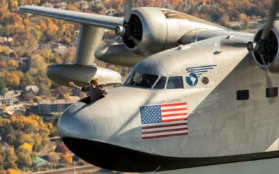 Documentary crew films Albatross stunt over Manhattan