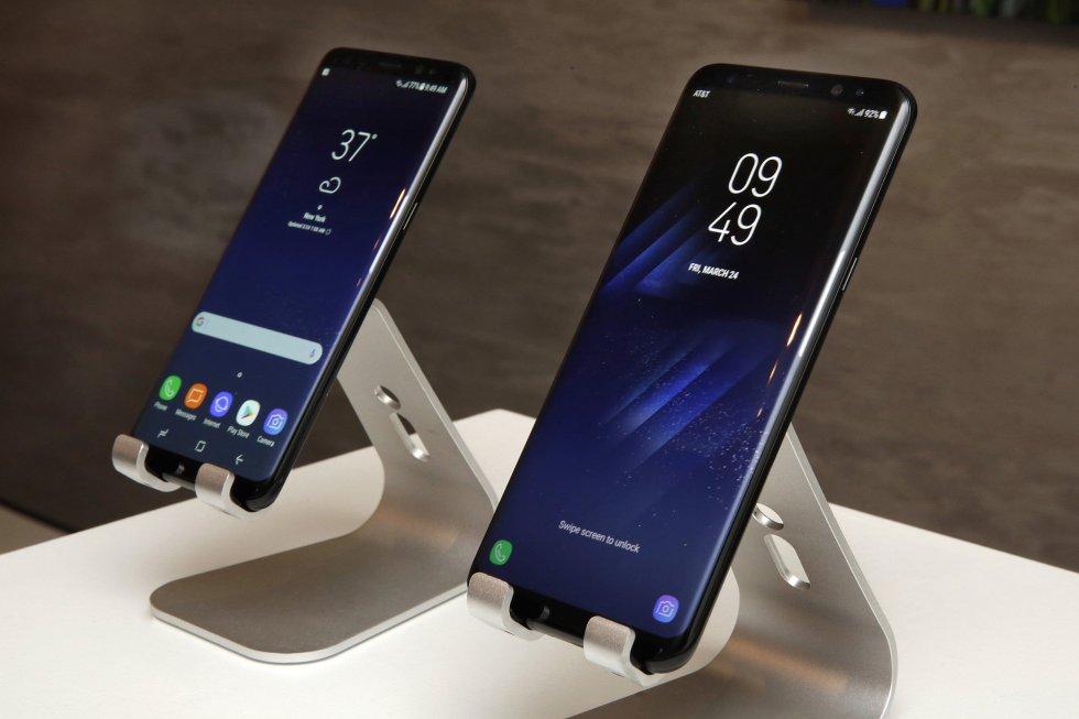 Samsung advances.