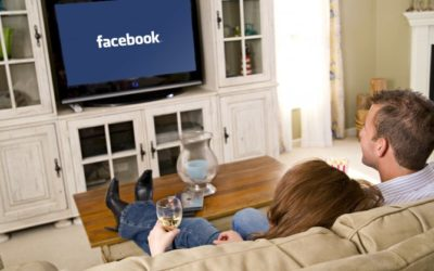 A new and great combination: Facebook and Television