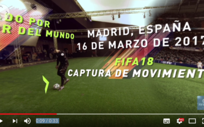 Must watch 360º of our shoot with CR7 for EA Sports Fifa 2018