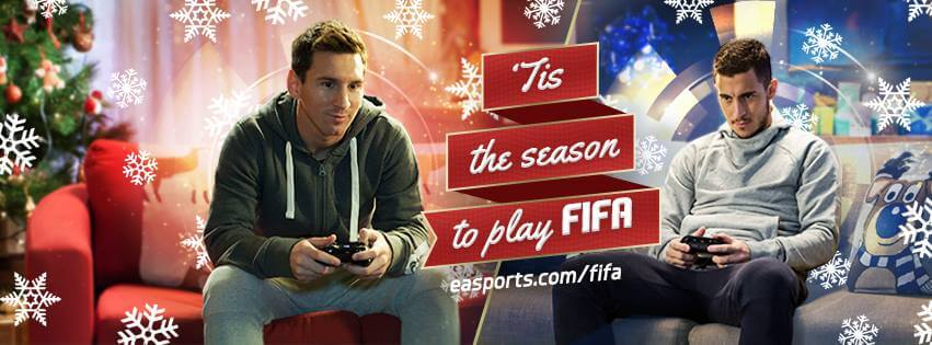 ES Sports – Fifa 15 Christmas Commercial Messi VS Hazard
