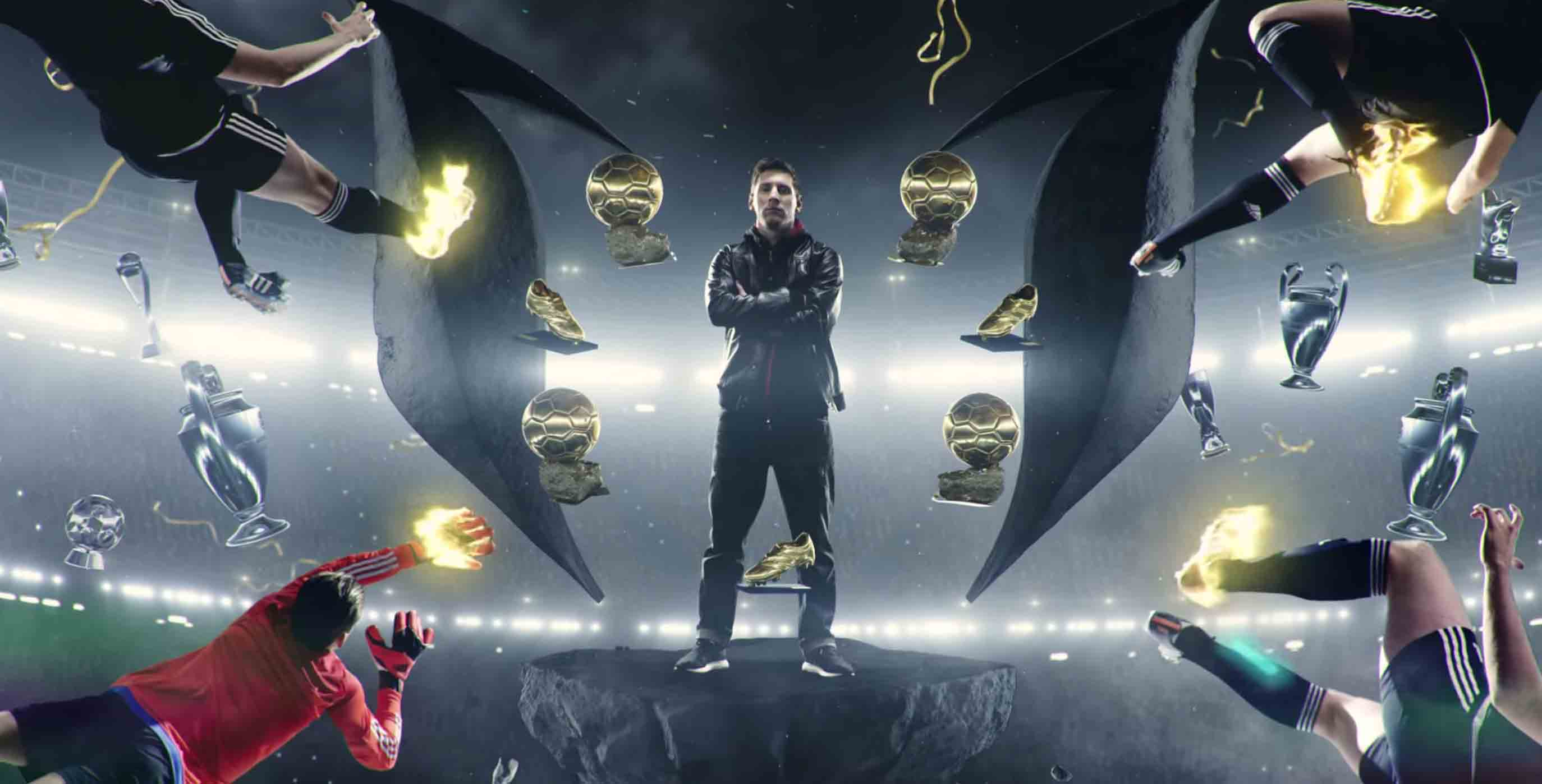 Excelente inversión Nueva llegada  Leo Messi — There Will Be Haters — adidas Football | Bonitaworld Media  Production SL