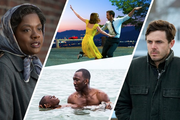 Complete list of Oscar nominations 2017